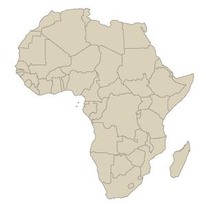 Mapa Afrika